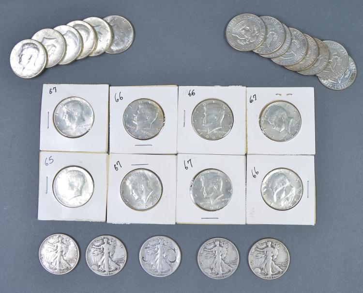 Silver Half Dollar Lot