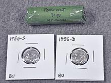 46 Roosevelt Silver Dimes