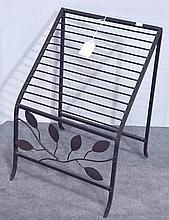 Decorative Iron Magazine Rack