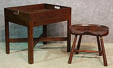 Butler's Tray Table & Stool