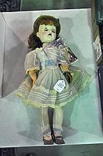 Early Collectible Doll in Hard Plastic