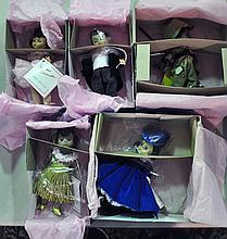 Bx Five Collectible Madame Alexander Dolls
