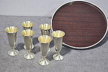 Alvin Sterling Cordial Set