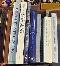 Bx 8 Books on Art