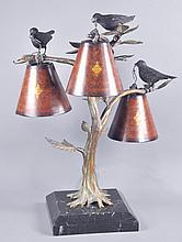 Three-Light Table Lamp