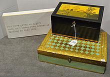2 Decorative Boxes