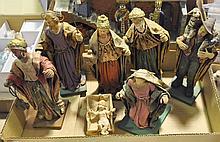 Eight-Piece Nativity Set