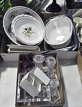 2 Bxs Glassware & Ceramics