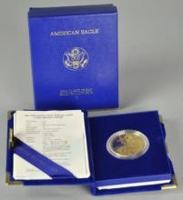 1986 One Ounce Gold Eagle $50 Proof Coin