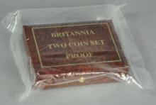 1987 Gold Britannia 2 Coin Proof Set