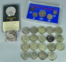 Silver Lot of Coins