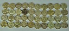 Roll of 90% Silver Washington Quarters