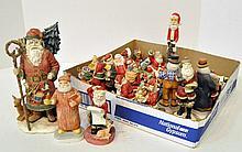 Bx Composition Santa Figurines