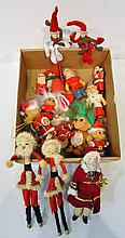 Bx Vintage Santa Claus Figurines