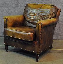 Bradington-Young Leather Club Chair