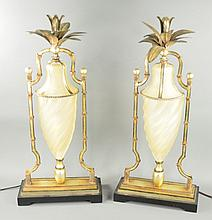 Two Uttermost Decorator Accent Lamps