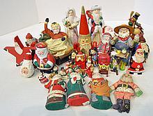 Bx Santa Claus Figurines