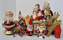 Two Bxs Santa Figurines