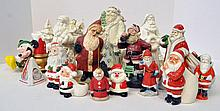 Bx Porcelain & Composition Figurines