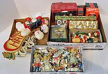 Three Bxs Christmas Lights, Ornaments & Bells
