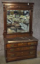 Early 20th Century Walnut Dresser