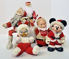 Bx Santa Claus Figures