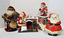 Bx Four Santa Figures