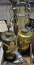 Two Satsuma Style Lamps