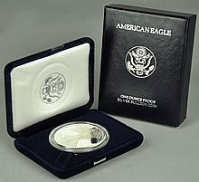 Key Proof Silver Eagle Dated 1994