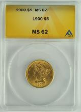 1900 Gold Liberty $5.00 Coin