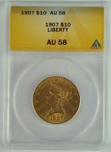 1907 Gold Liberty $10.00 Coin