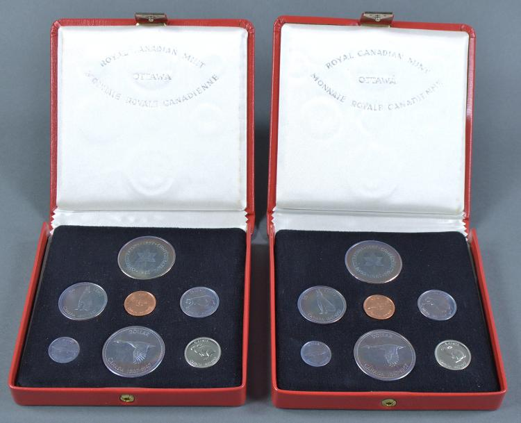 Two 1867-1967 Canadian Proof-Like Sets