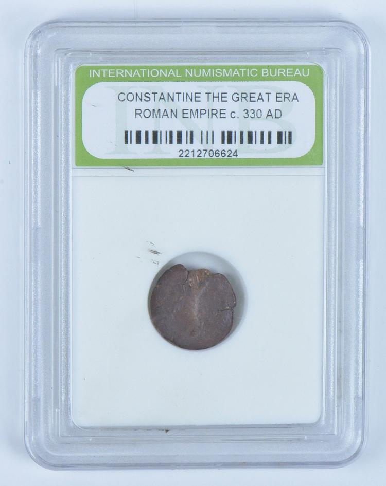 Roman Bronze Coin Constantine the Great
