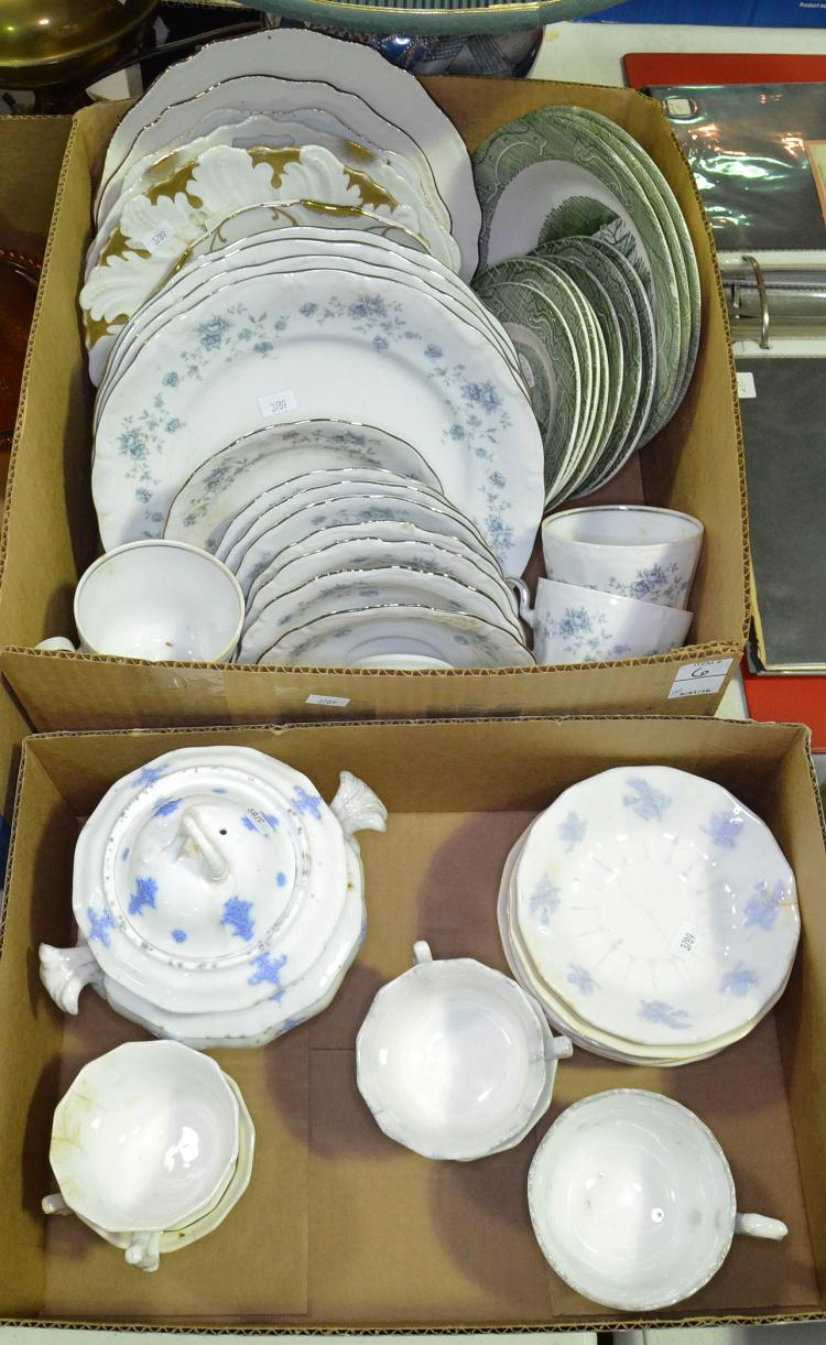 Two Bxs Dinnerware