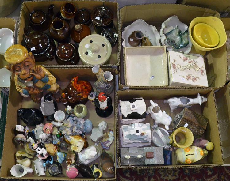 Four Bxs Decorative Ceramic Items