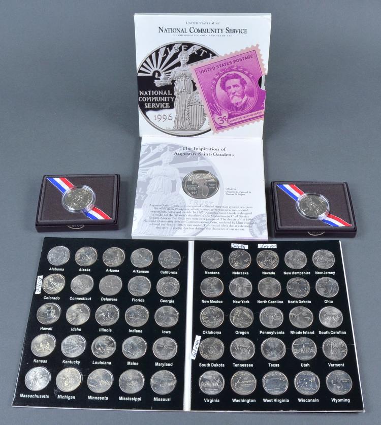 1996 St. Gaudens Proof Silver Dollar