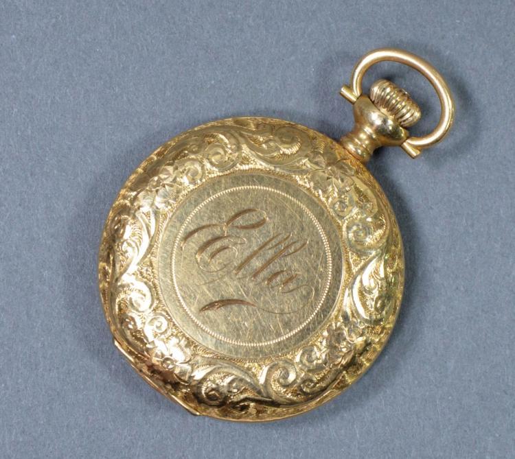 Ladies Baird-North 14K Gold Pocket Watch