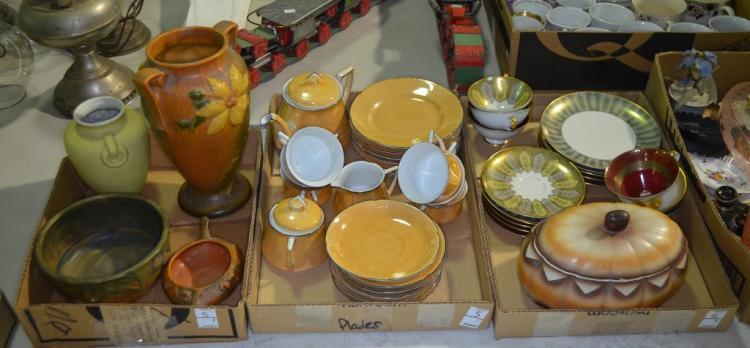 Three Bxs. Ceramic Items