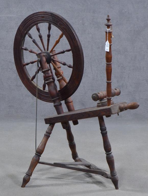 Mixed Woods Flax Wheel