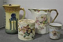 Bx Four Decorative Items