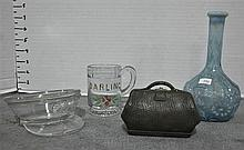 Four Pieces of Collectible Glassware