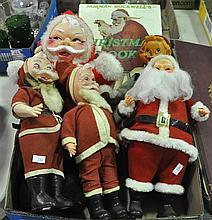 Bx Five Stuffed Figures