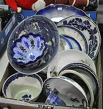 Bx Misc Blue & White Dinnerware