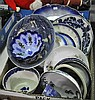 Bx Misc Blue & White Dinnerware