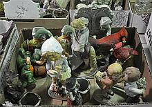 Bx Japanese Figurines