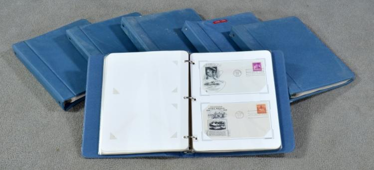 Six Albums of First Day Covers