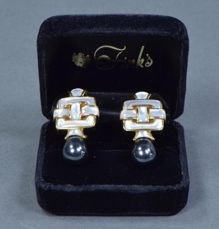 18K Angela Cummings Earrings