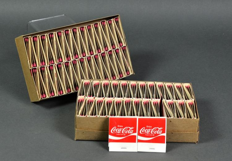 """Coke """"It's the Real Thing"""" Matches"""