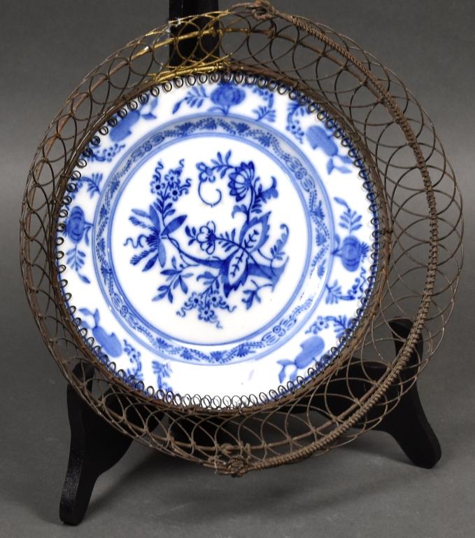 Villeroy & Boch Blue Onion Wire Basket