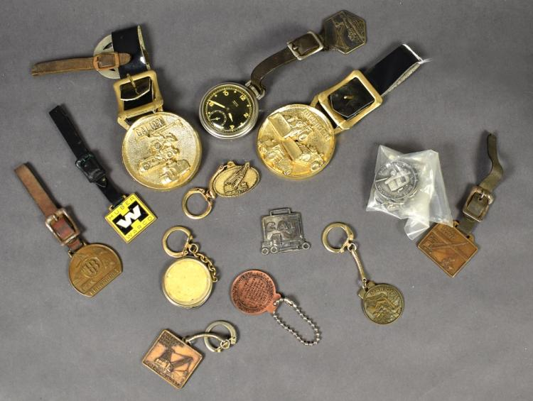 14 Miscellaneous Watch Fobs & Key Chains